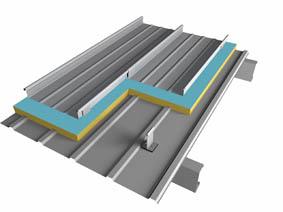 直立锁边屋面板(标准型)
