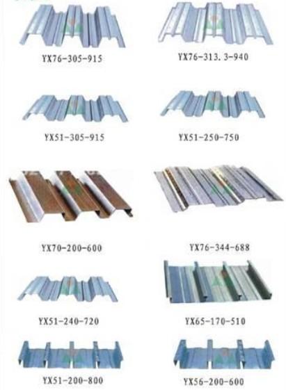 安徽楼承板压型板、供应陕西新疆贵州南京压型钢板