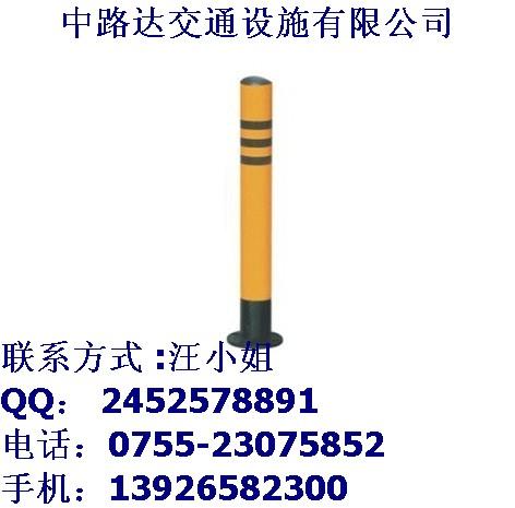 钢管防护桩多少钱?深圳中路达警示桩厂家直销