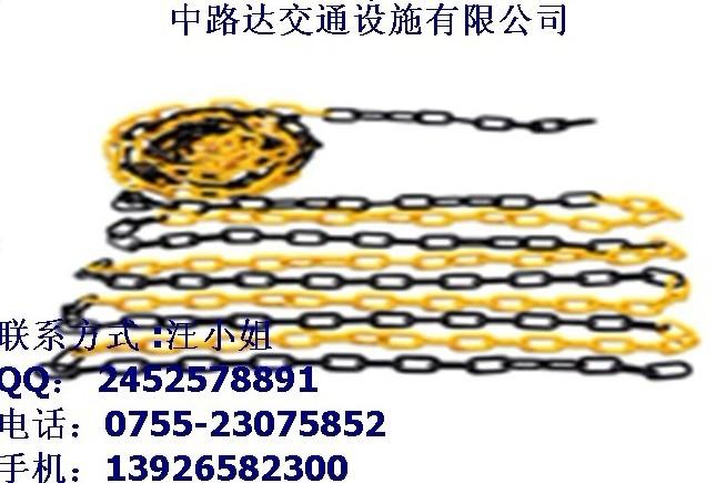 优质防护胶链/警示链/路锥胶链厂家直销