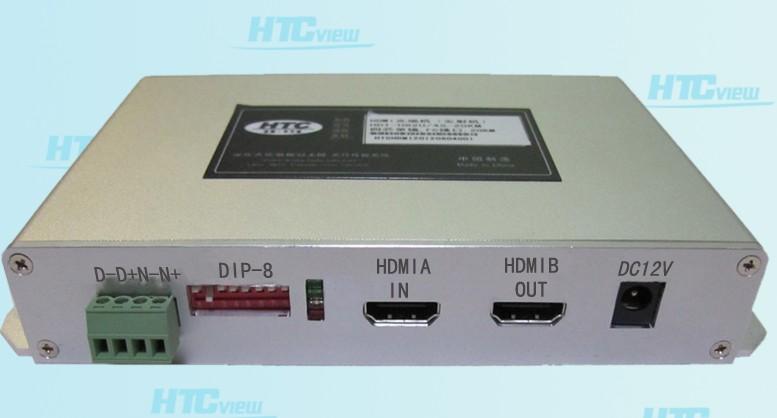 HDMI光端机在购物中心多媒体显示系统应用