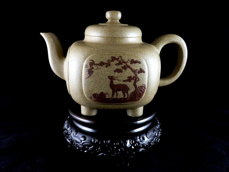 名家紫砂壶是值得收藏的精品紫砂壶,带来增值空间