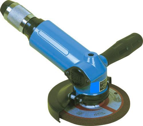SJ110°125 气动角磨机,SJ110°125角式气动砂轮机
