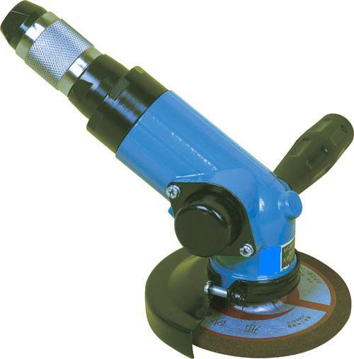 SJ120°125气动角磨机,SJ120°125角式气动砂轮机