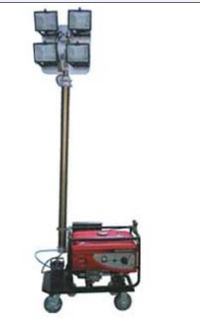全方位SFW6110B自动升降移动照明车