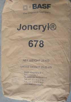 供应巴斯夫J-678水性丙烯酸树脂