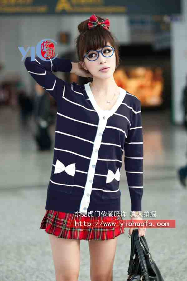2010秋季新款女式毛衣 冬季毛衣 韩版毛衣批发 套头毛衣 开衫