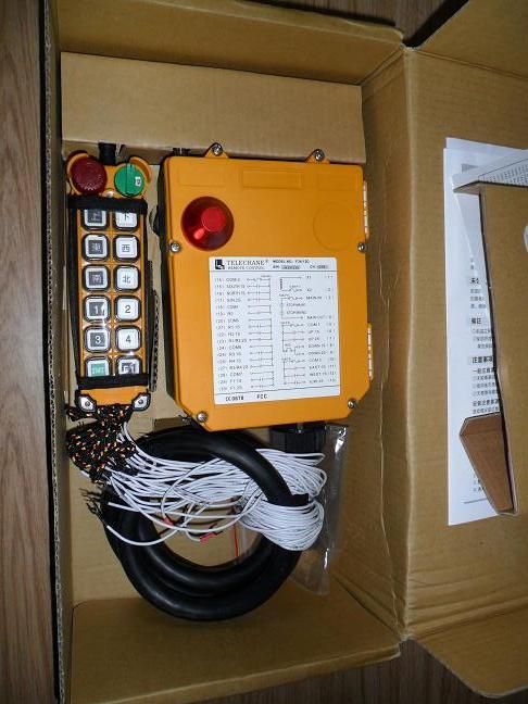 F24-12S  双梁行车遥控器