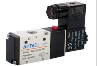亚德客电磁阀,AIRTAC 3V200系列电磁阀
