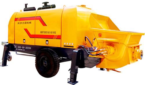 供应柴油拖式混凝土输送泵