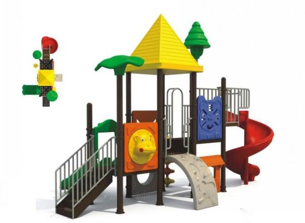 幼儿园户外滑滑梯组合
