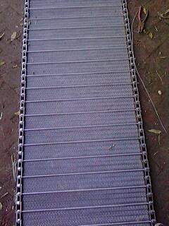 苏州高温炉输送链网 安徽金属网带 河北网带 金属传送带