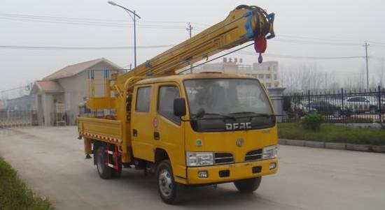 东风12米高空作业车|路灯维修车