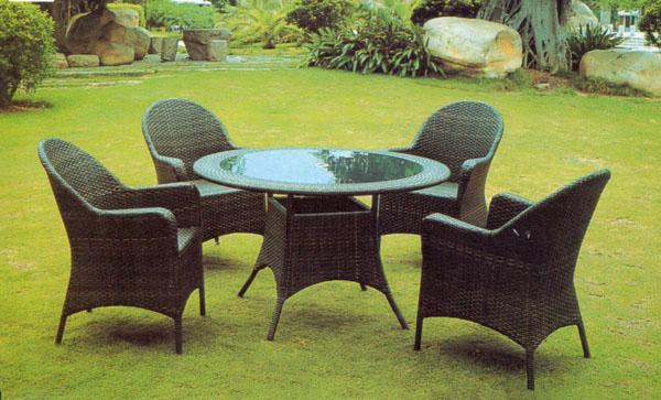 花园家具,编藤桌椅,户外藤桌椅