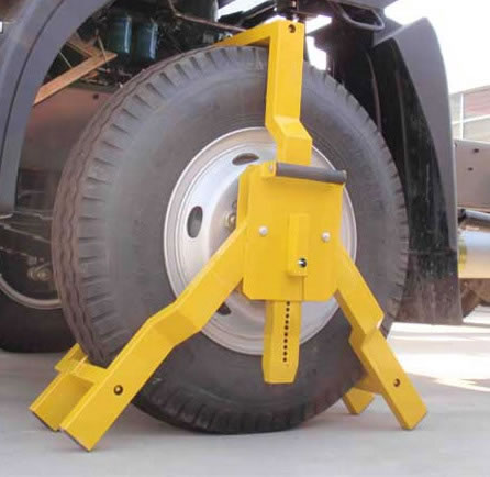 三爪锁,车轮锁,车轮三爪锁,货车车轮三爪锁,广州厂家生产直销
