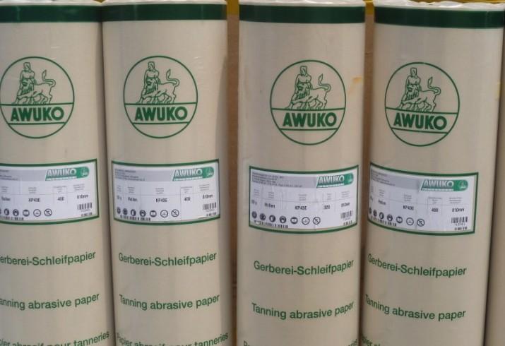 最佳磨革砂纸-德国进口AWUKO牌皮革专业砂纸