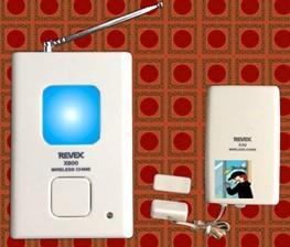 无线门磁感应报警器,door_window alarm