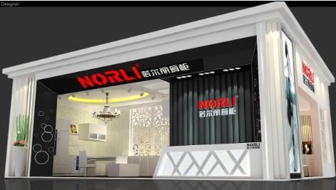 上海展台设计搭建,上海橱柜展展台设计