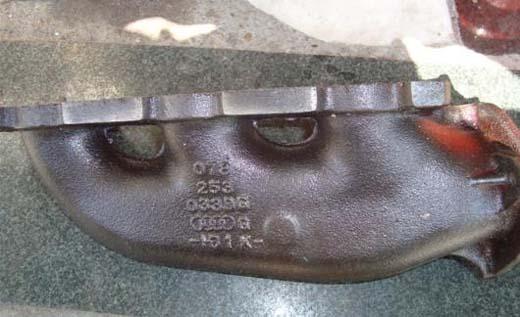 奥迪发动机排气支管 三元催化 原装拆车件.jpg