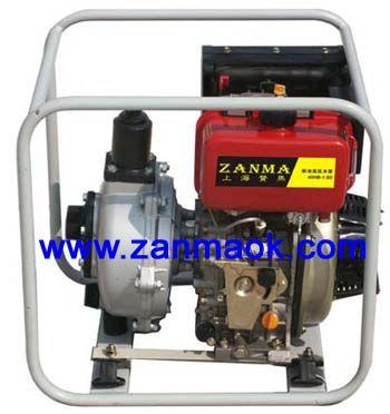 上海赞马1.5寸手启动柴油消防水泵,高压泵,高扬程柴油水泵178
