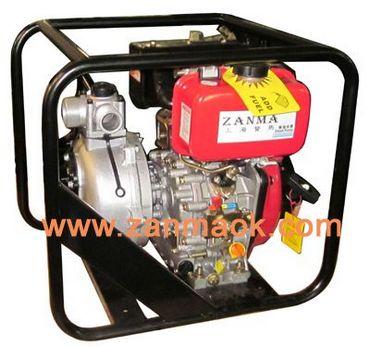 上海赞马2寸手启动柴油消防泵,高压泵,高扬程柴油水泵178动力