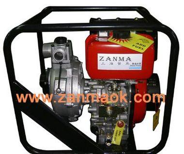 上海赞马3寸10马力手启动消防水泵,高压泵,高扬程柴油水泵,抽水