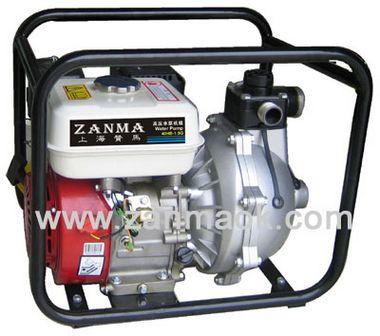 上海赞马1.5寸汽油动力7.5马力高压水泵,抽水机,消防泵,自吸