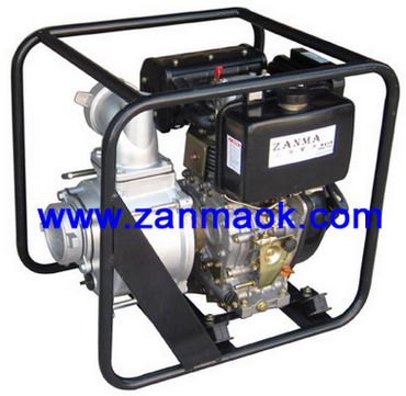 上海赞马4寸186动力柴油污水泵,排污泵,水泵机组