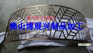 激光镂空不锈钢板 古铜不锈钢屏风镂空加工