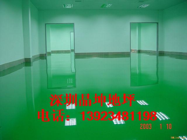 深圳环氧树脂地板漆 停车场地板漆工程