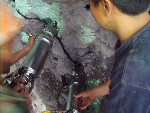 液压静爆机非开挖掘进机械