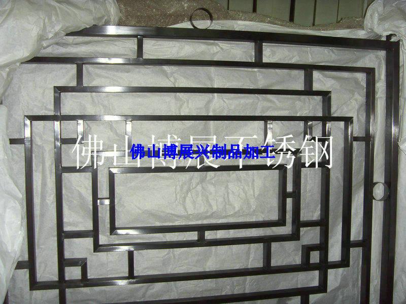 不锈钢屏风加工 真空电镀玫瑰金 钛金不锈钢酒架