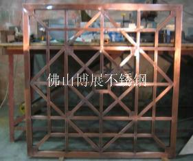 供应钣金焊接加工不锈钢屏风电镀加工