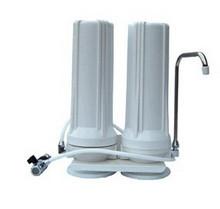 厨上式两级净水机 台式二级净水器过滤器 双级净水机