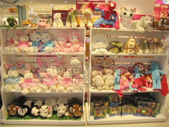 精品毛绒玩具加盟丨动漫玩具店招商加盟