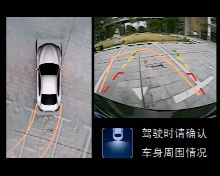 道可视360度全景倒车辅助系统
