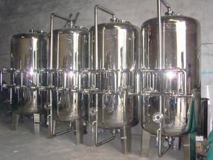 8-10T/H不锈钢过滤器