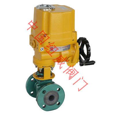 电动PFA球阀Q941F46-16C