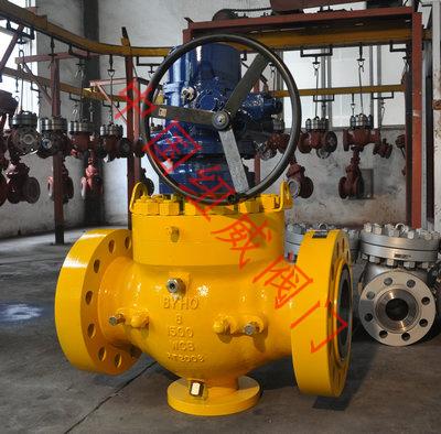Q341美标高压上装式球阀