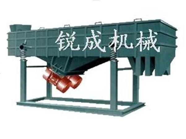 磨料原料专用多层粉料直线筛分机