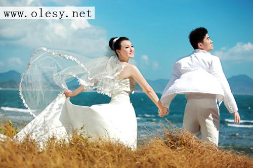 三亚婚纱照—欧啦婚纱摄影让你成为最闪亮的新娘(yc)