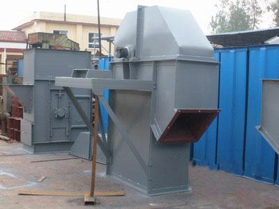 碳化硅厂需要斗式提升机华中电振给你精心制作