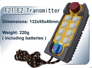 台湾禹鼎遥控器 起重机遥控器 行车遥控器F21-E2