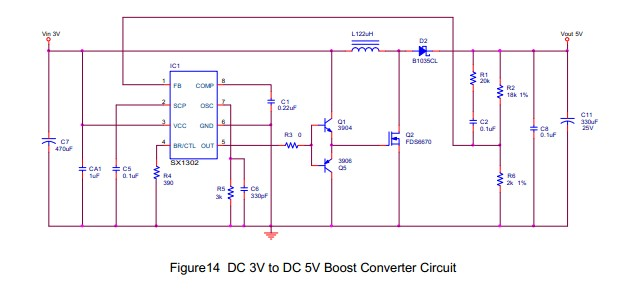 大功率电源升压ic 3a大电流升压ic 12v升压19v电源ic