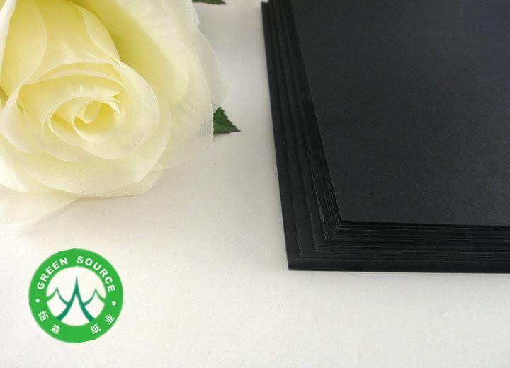 黑卡纸 黑卡纸厂家 优质黑卡纸