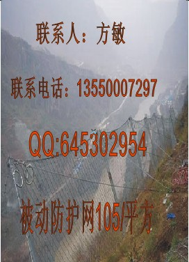 边坡被动防护网厂家,菱形被动网RX075价格,环形被动网050