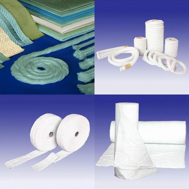 耀星供应高温管道容器的绝热专用陶瓷纤维布带绳纱线、套管