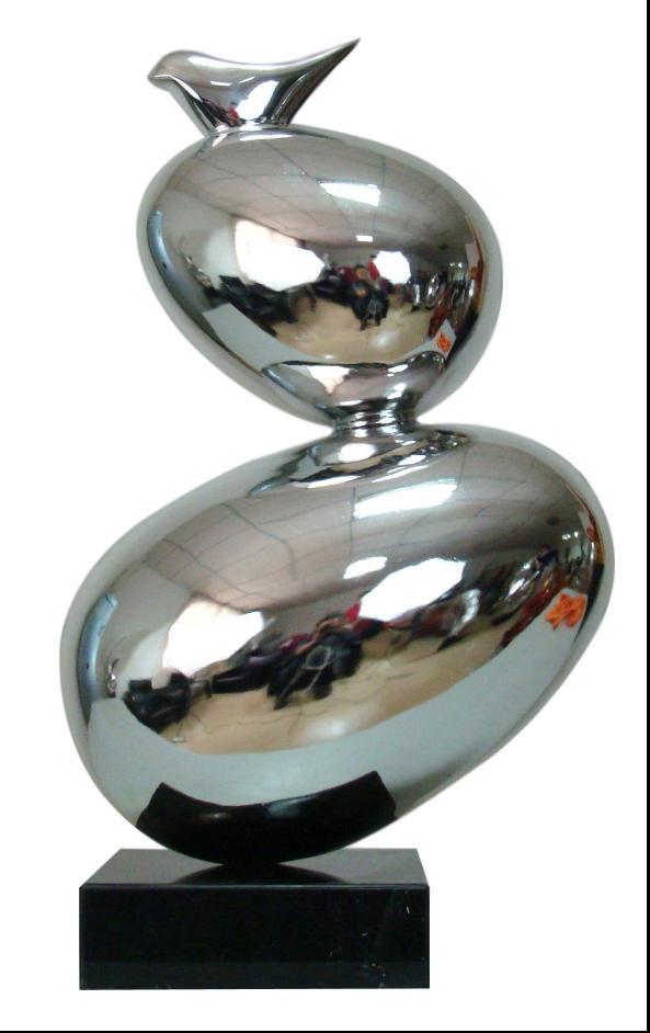 不锈钢雕塑工艺品质量保证,欢迎咨询洽谈。