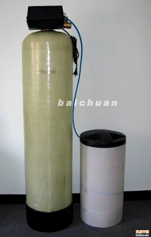 百川单罐半自动软化水设备