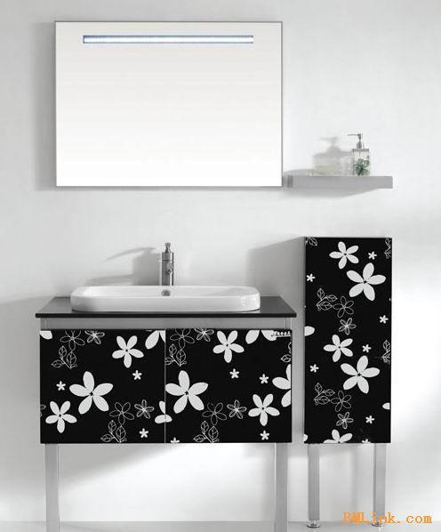 黑色镜面不锈钢板蚀刻小碎花装饰板